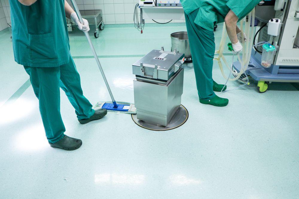 Krankenhaus - und Reinraumreinigung