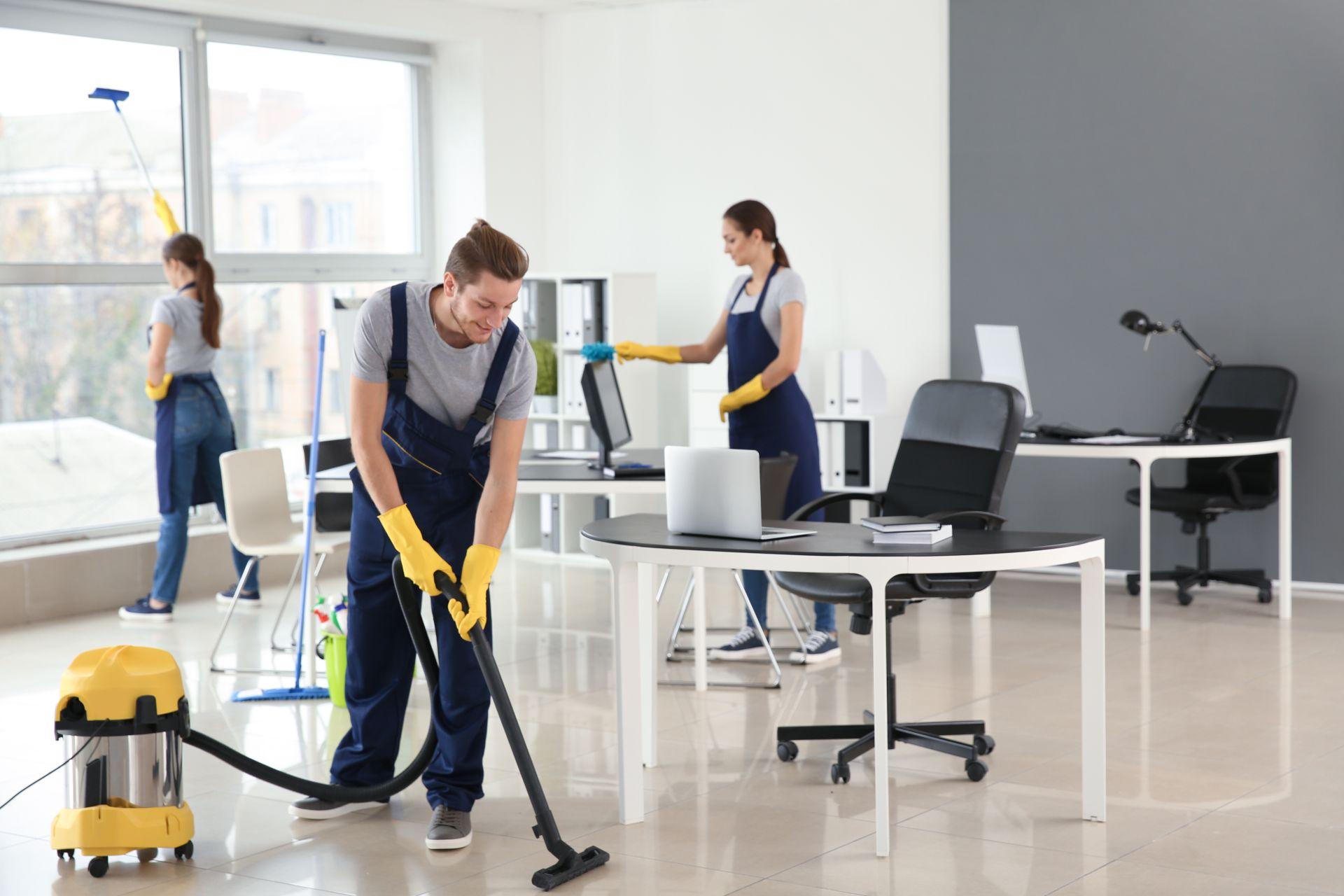Reinigungs-Team